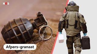 Het levensgevaarlijke werk van de bommenbrigade