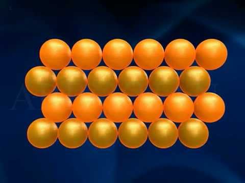 Hexagonal Closed Packed Structure 3D Animation