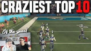 HOW DID HE PULL THIS OFF!? Your Craziest Plays of the Entire Year!! (Madden 18)