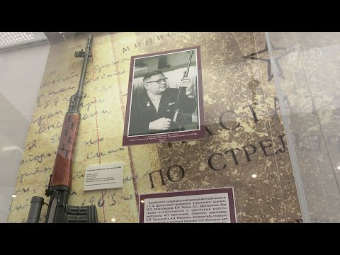 Сто лет назад родился создатель легендарной снайперской винтовки СВД Евгений Драгунов.