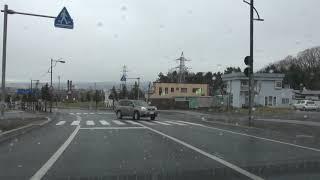 北海道道800号北の峯線:北の峰ターミナル~国道38号交点[富良野市](HD画質)