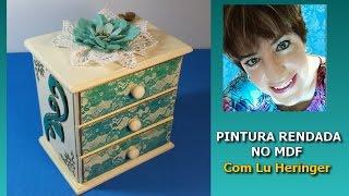Gambar cover PINTURA RENDADA! Linda, linda, linda e muito fácil de fazer!