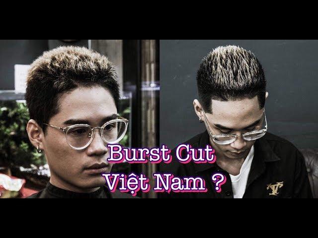 Shock Kiểu Tóc Nam Mới Burst Cut 2019  | Barbershop Vũ Trí