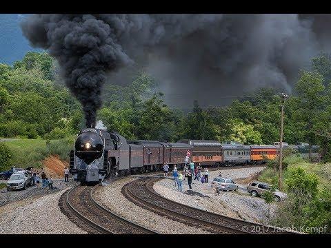 N&W 611: Storming Through Virginia