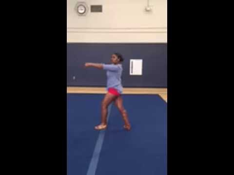 Hackensack High School Football Cheer Tryout 2016-2017 (Dance)