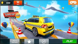 Taxi Car Stunts 2 Games 3D: Ramp Car Stunts (Android Gameplay)