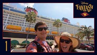 Disney Cruise Vlog 1 | Welcome Aboard the Disney Fantasy!