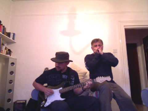 The Doors Roadhouse blues cover  with harmonica