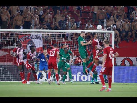 Olympiakos Ludogorets Razgrad Goals And Highlights