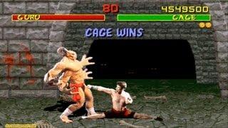 Mortal Kombat 1 arcade Johnny Cage Gameplay Playthrough Longplay