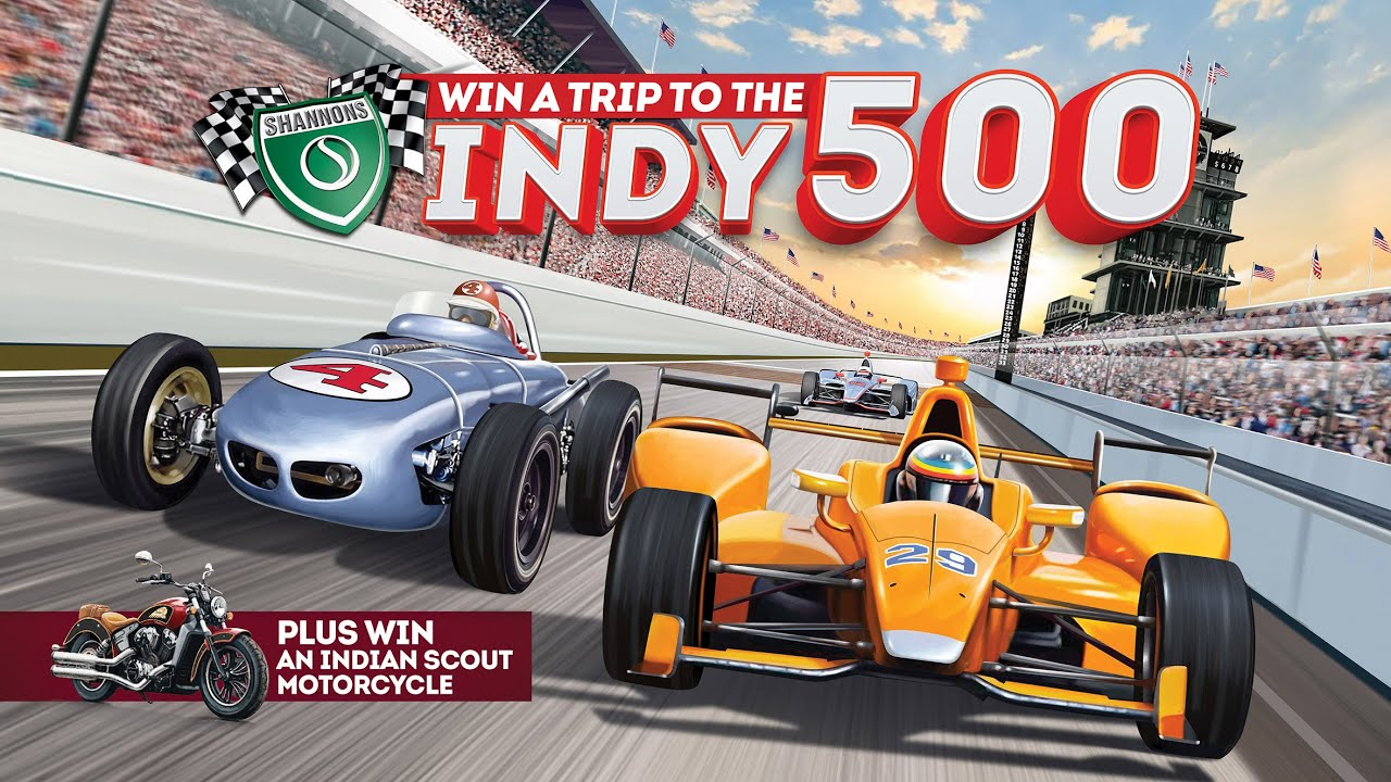 Win a Trip to the Indy 500! Plus, an Indian Scout Motorcycle.