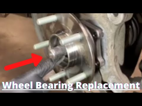 How to Replace Front Wheel Bearing Chrysler Town & Country