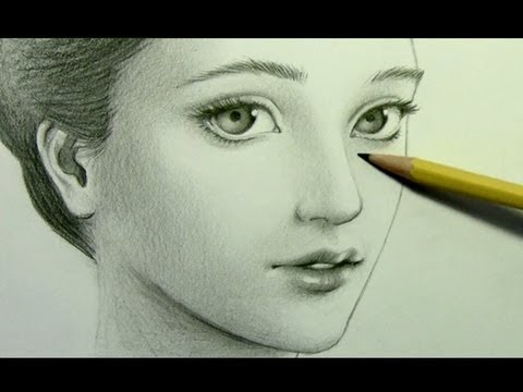 "how to draw a ""realistic"" manga face pt 2 shading"