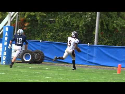 George Pearson 77-yard TD pass to Aliem Shaw