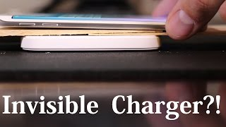 Totally Invisible Wireless Charging DIY project