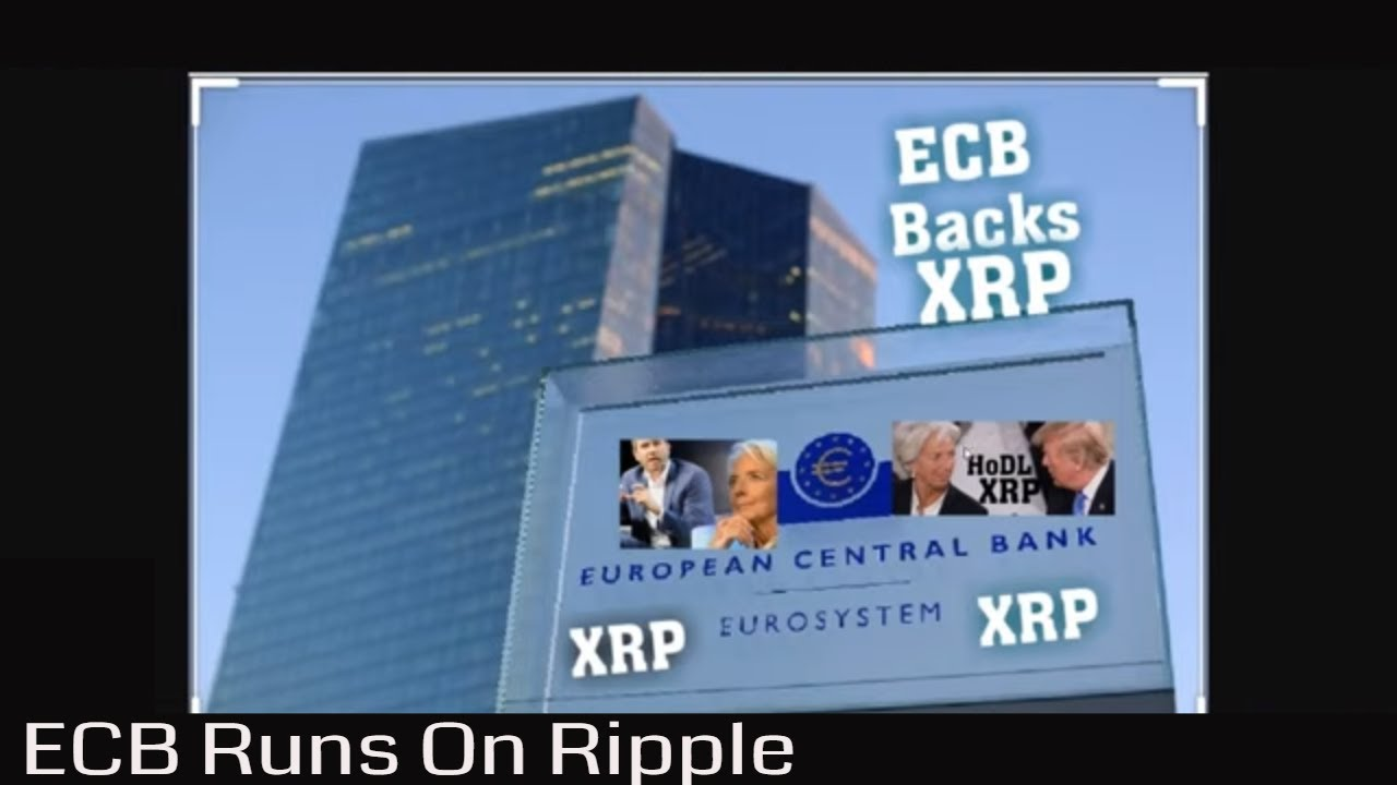 #XRP ECB Runs On Ripple. The Holy Grail of Xrapid. ECB Specialized Banking Crypto Licences