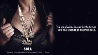 Sola Dembow Remix Letra Zion y Lennox Ft. Anuel AA, Farruko, Daddy Yankee, Wisin.mp3