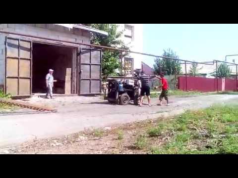 Перевозка малогабаритной буровой установки