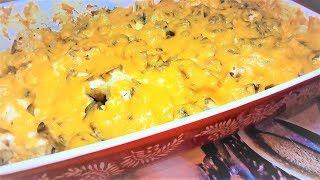 Запеченная ЦВЕТНАЯ КАПУСТА с ГРИБАМИ под сыром. Вкусная запеканка.