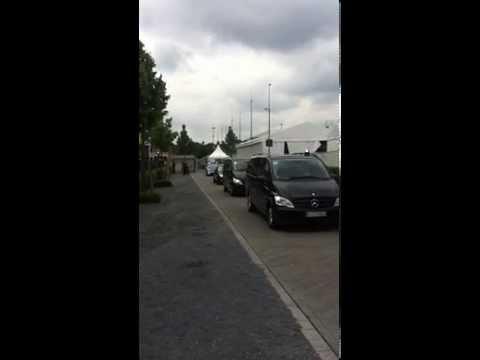 Verkehrskadetten Aachen CHIO 2013 Kronprinzessin Mary