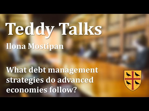 Teddy Talks: What debt management strategies do advanced economies follow? Ilona Mostipan