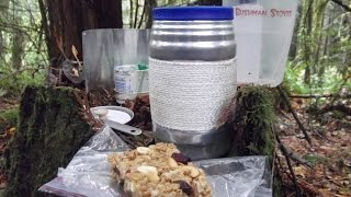 Backpacking No Bake Granola Gorp Bars