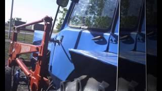 Тюнинг, ремонт и покраска трактора МТЗ-80 Беларус с погрузчиком(С этой техникой самое сложное было отмыть от мазута. А так пара вмятин, заменил решётки на капоте, обшил..., 2014-06-08T05:36:48.000Z)