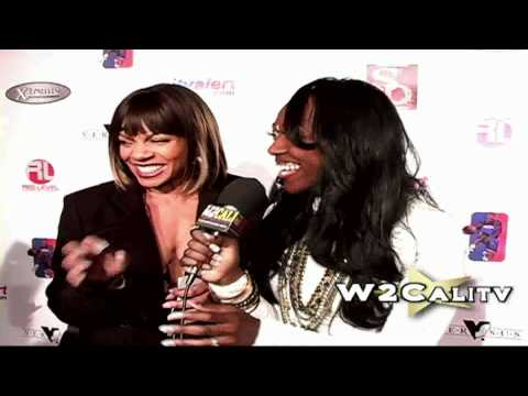Wendy Raquel Robinson Dirty Dancing on the red carpet