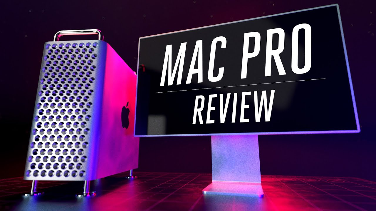 Six professionals review the Mac Pro - YouTube