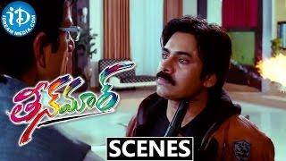 Teen Maar Movie Scenes || Pawan Kalyan, Kriti Kharbanda, Mukesh Rushi Best Scene