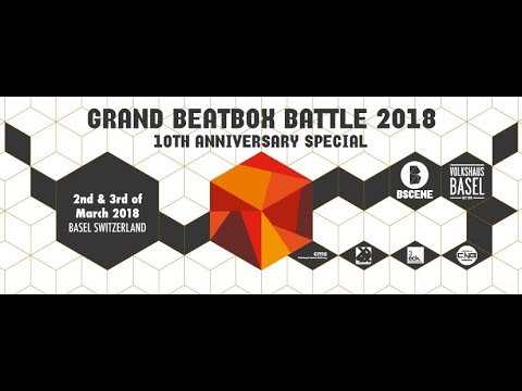 GRAND BEATBOX BATTLE 2018 | Day 1 | Official Livestream