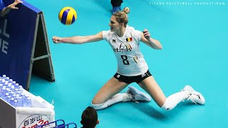 Unbelievable Women's Volleyball Actions - Best Volleyball Digs-Saves | Long Rally | VNL 2019