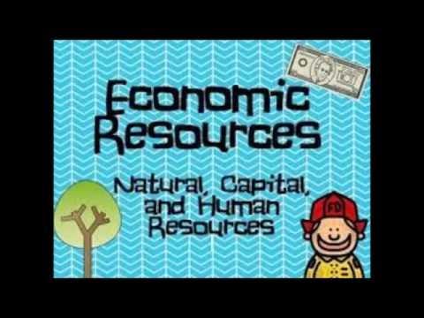 Economic Resources - YouTube