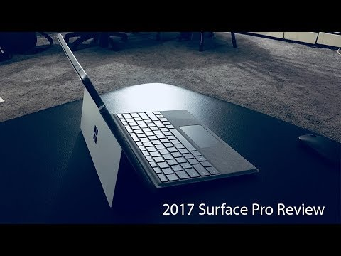 Microsoft Surface Pro Review for artists 2017