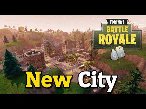 Fortnite Battle Royale - NEW CITY!! HUGE UPDATE!! LET'S GO!!