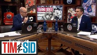 Tim and Sid Take Sides In The Matthew Tkachuk and Zach Kassian Feud   Tim and Sid