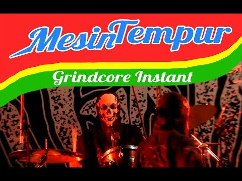 MESIN TEMPUR - Mana Tukang Indomie (live) (HD) // Jakarta Grindcore Festival 2018 // Indonesia