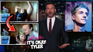 Ninja Gets ROASTED By Jimmy Kimmel on Live TV and His Wife Jessica Comforts Him! (Fortnite Moments)
