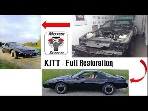 Knight Rider KITT Trans Am - Full Restoration (ft. Marvel83')