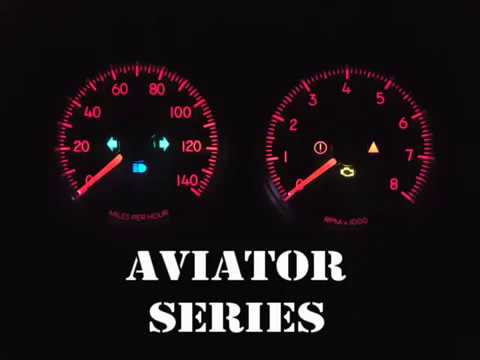 products gauges and packages aviator series page 1  dodge factory match gauge kits 2003