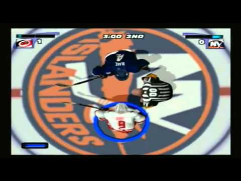 NHL Hitz 2003 Season Mode: Carolina Hurricanes Game 3 vs. NY Islanders