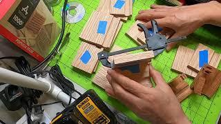 뉴욕 직장인의 목공예 부업 도전 : 핸드폰 스탠드 만들…