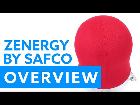 Overview of the Zenergy Ball Chair by Safco Products