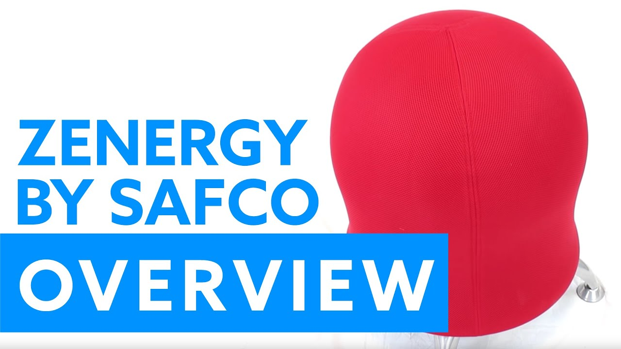 Overview Of The Zenergy™ Ball Chair By Safco Products   YouTube