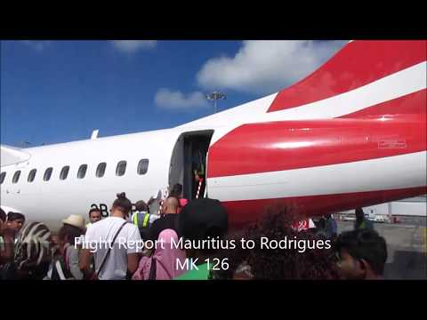|Flight Report| Mauritius to Rodrigues| Air Mauritius| ATR 72-500