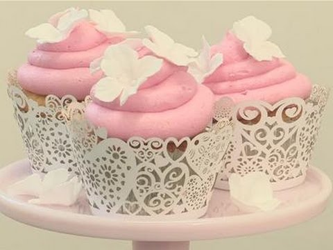 How To Decorate Wedding Cupcakes   YouTube How To Decorate Wedding Cupcakes