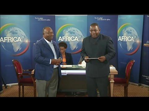 DÉBATS - Élection présidentielle Gabon: Interview du candidat Ali Bongo Ondimba - 25/08/2016 (1/4)