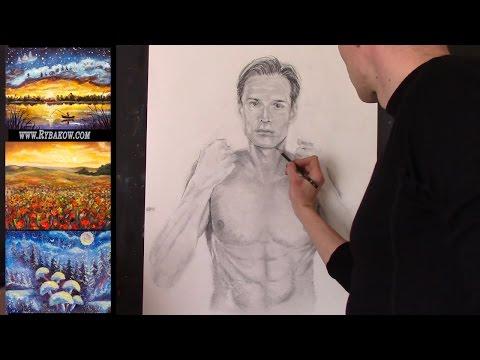 Как рисовать карандашом рисунок: В тюрьме собственных мыслей!