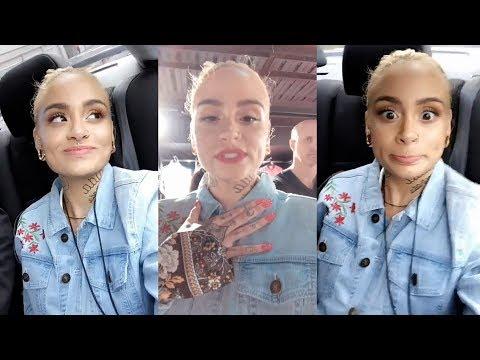 Kehlani  Snapchat Story  20 April 2018