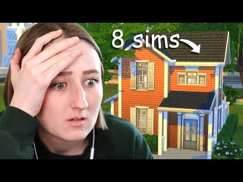 Can I build a micro home for 8 Sims? - lilsimsie